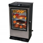 Masterbuilt 20075315 Front Controller Smoker with Window and Remote Control