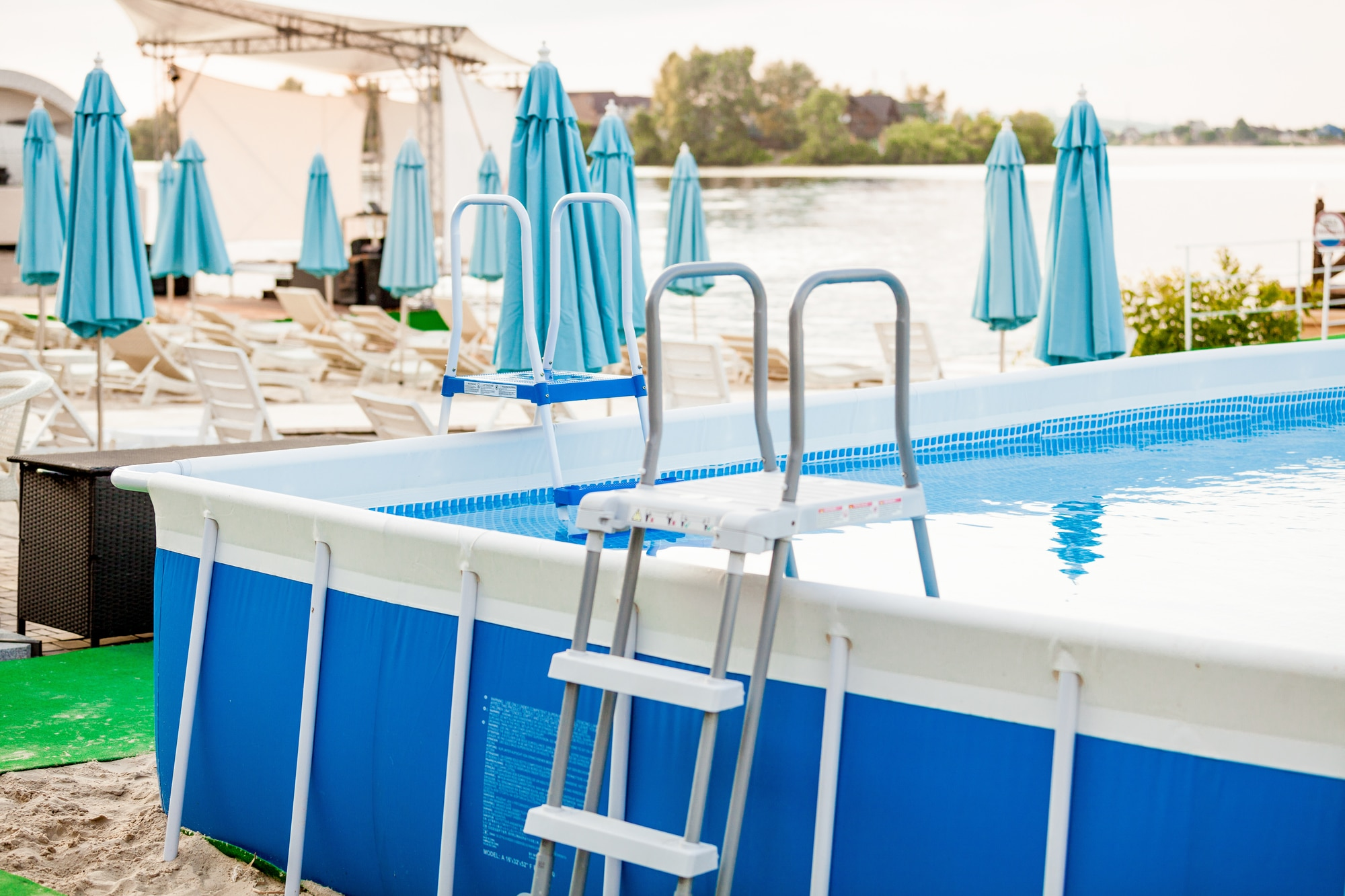 Can above ground pools be converted to saltwater - Convert swimming pool to saltwater ...