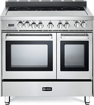 The 5 Element Electric Range Includes A Center Dual Which Can Be Used To Safely Station Large Stock